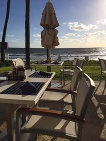 Highland Beach, FL: View from dining terrace