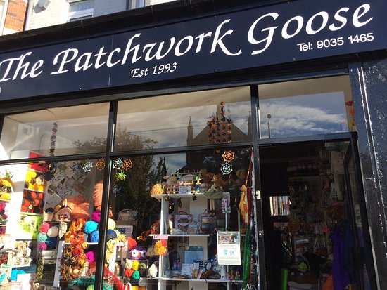 The Patchwork Goose