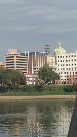 City Island: View of Capitol Harrisburg