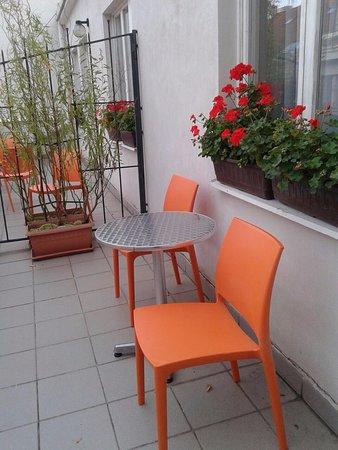 Andante Hotel: балкон в номере