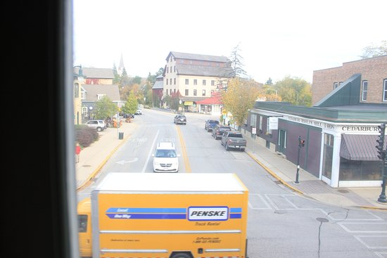 Cedarburg, WI: View outside window in Room 210