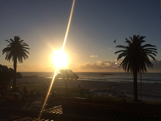 Camps Bay, Zuid-Afrika: Sunset