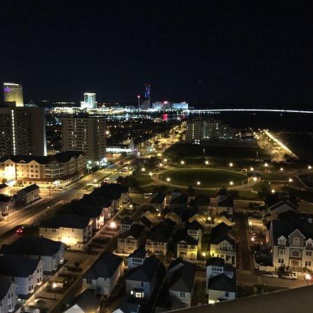 Flagship Resort: Bridge to Brigantine at Night