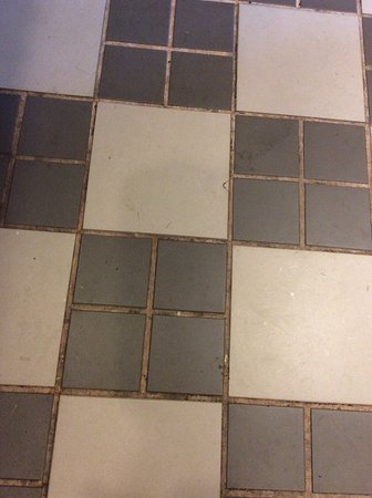 Calabogie, Kanada: Kitchen floor upon arrival