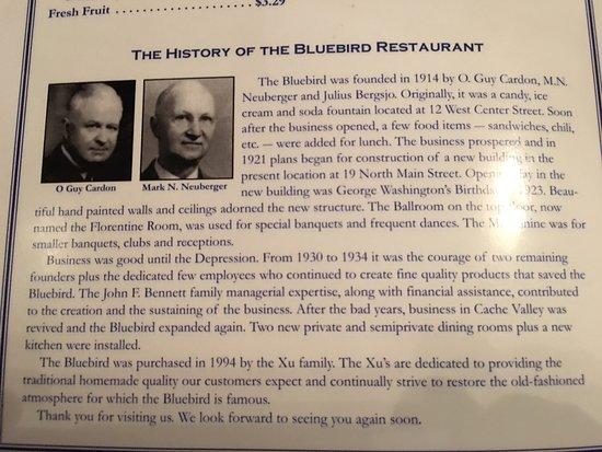 Logan, Utah: Bluebird Restaurant