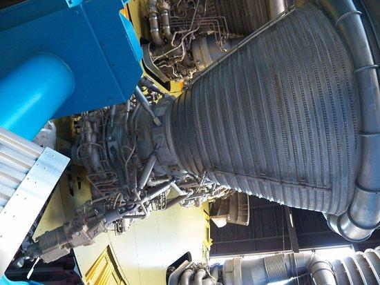 Huntsville, AL: Saturn V in Davidson Center for Space Exploration building