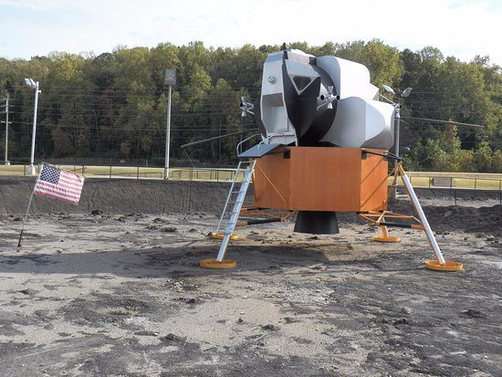 Huntsville, AL: Outside exhibit at U.S. Space & Rocket Center