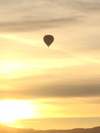 Юнтвилл, Калифорния: Ballooning over Napa Valley