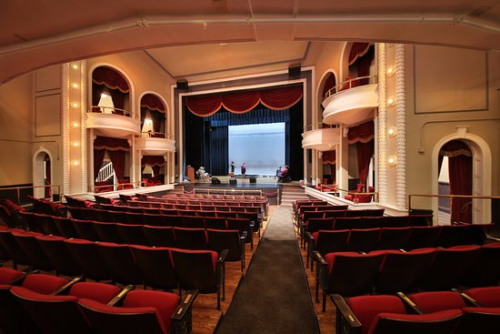 Clifton Forge, Wirginia: The Auditorium, in rehearsal