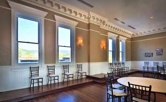 Clifton Forge, VA: ...after the renovation, it is used as a community room....
