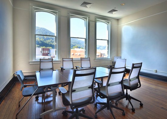 Clifton Forge, VA: Our conference room.