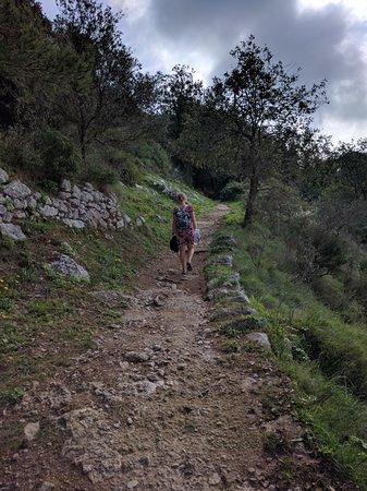 Mount Solaro: Trail for hiking Monte Solaro
