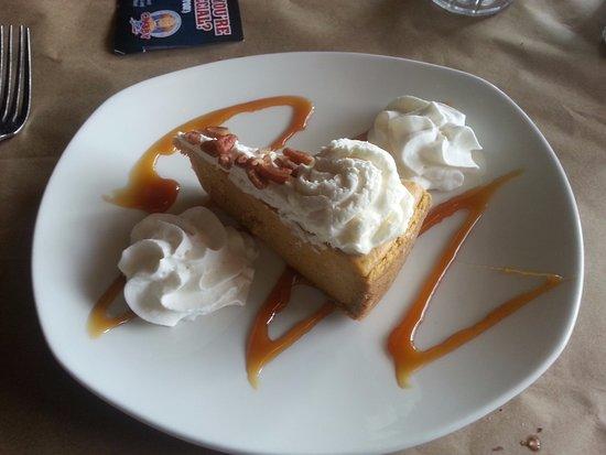 Hanover, Kanada: Pumpkin Cheese Cake