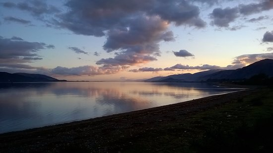 Ardgour, UK: view from the hotel