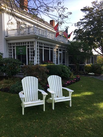 Captain David Kelley House: Quiet places to relax