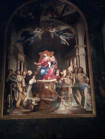 Chiesa di San Bartolomeo: La pala del Lotto