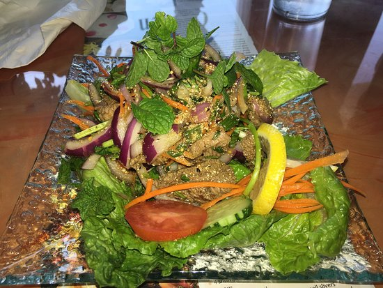 Goldsboro, Carolina del Norte: Beef salad