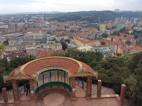 Brno, Republika Czeska: view over the city