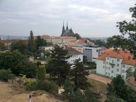 Brno, Republika Czeska: view over the old city