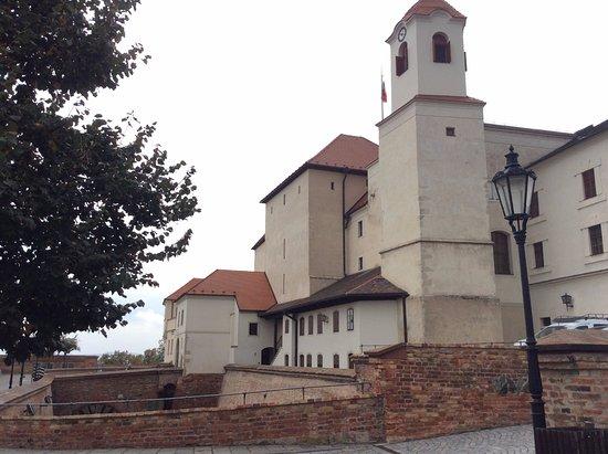 Brno, Republika Czeska: inside the castle