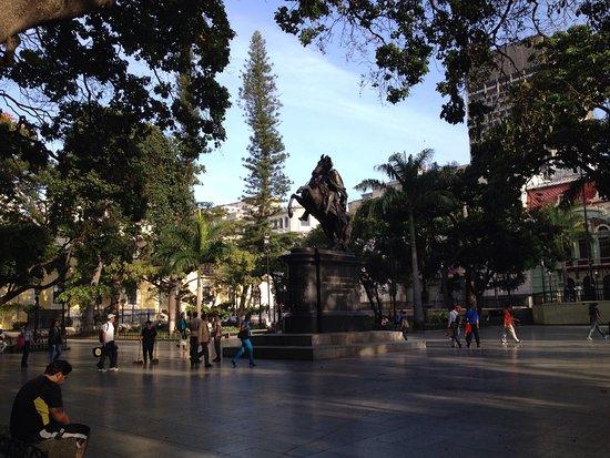 Plaza Bolivar: Plaza Bolívar de Caracas.