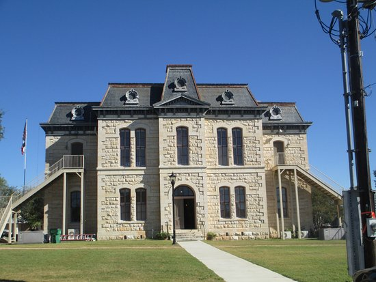 Exterior of Old Blanco County Courthouse