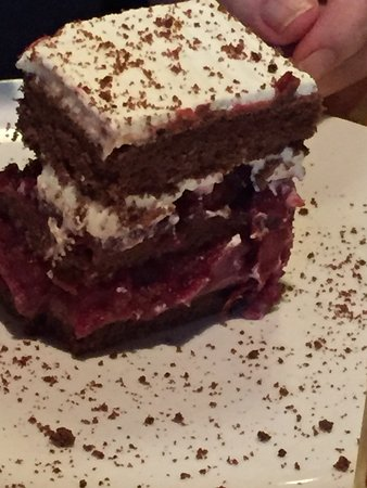 Gardiner, Estado de Nueva York: up close black forest cake