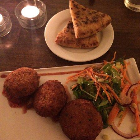 Portumna, Irlanda: Falafel feast 😍