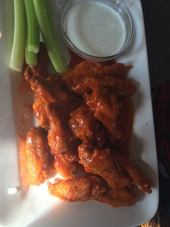 "Jenison, MI: Gotta try these! Wings and ""Get me n go"" burger."
