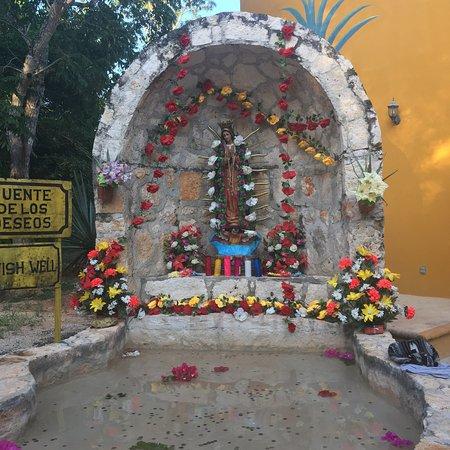 Temozon, المكسيك: Un lugar muy bonito, el lugar es precioso, muy accesible a turistas locales inclusive llegamos c