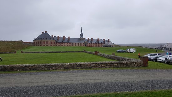 Louisbourg, Canada: The old fort and gorunds
