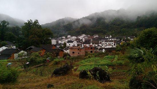 Wuyuan County, Kina: 洪村