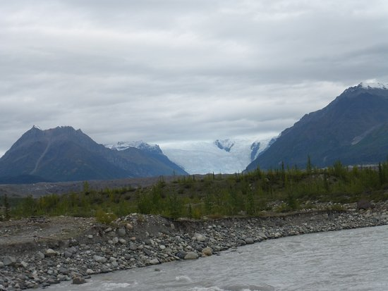 Wrangell-St Elias National Park and Preserve, AK: Glacier at Wrangell-St. Elias National Park