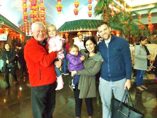 Mandarin Restaurant: Wonderful family get together