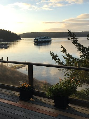 Orcas, WA: View from deck