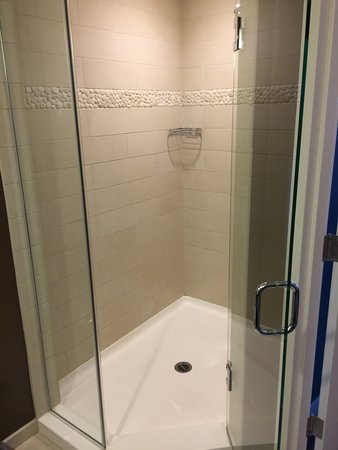 Hotel Indigo San Diego Gaslamp Quarter  The big walk in shower The big walk in shower    Picture of Hotel Indigo San Diego  . Big Walk In Showers. Home Design Ideas