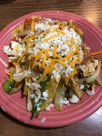 Madison, Virgínia Ocidental: Chicken Fajita Nachos