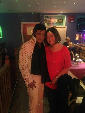Greenford, UK: Elvis night , a fabulous evening