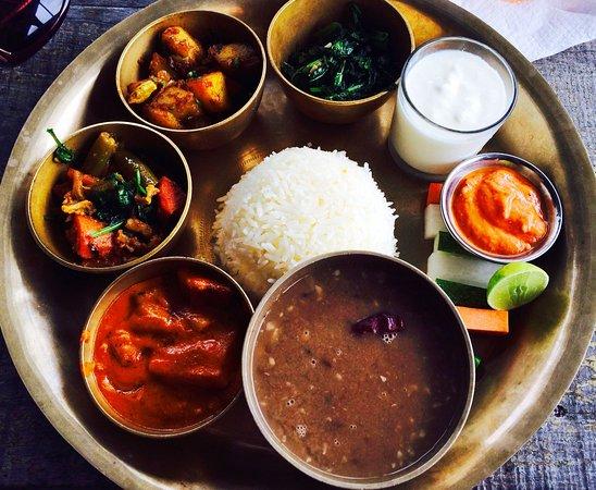 Gympie, Avustralya: Mt Everest Nepalese Restaurant - Meal