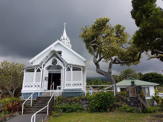 Honaunau, Hawái: The Painted Church