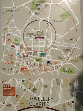 map info Picture of Gas Street Basin Birmingham TripAdvisor