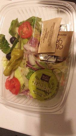 Douglasville, GA: Famous salad