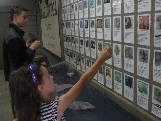 ดาห์โลนีกา, จอร์เจีย: Identifying the gemstones they found