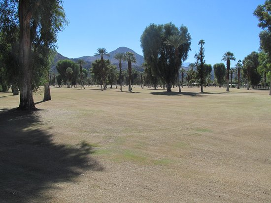 Indian Wells, CA: Golf course is not ready yet but they r working on it.