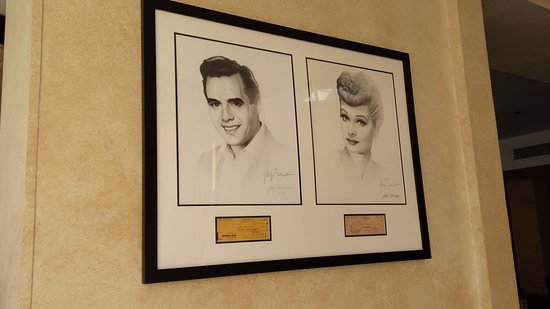Indian Wells, CA: Sketches of Lucy & Desi from the 50s