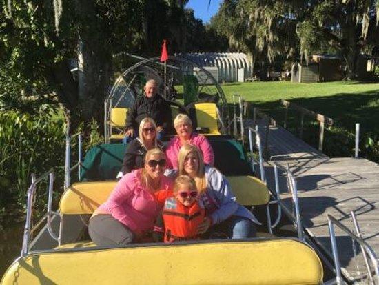 Lake Panasoffkee, FL: Airboat Adventure