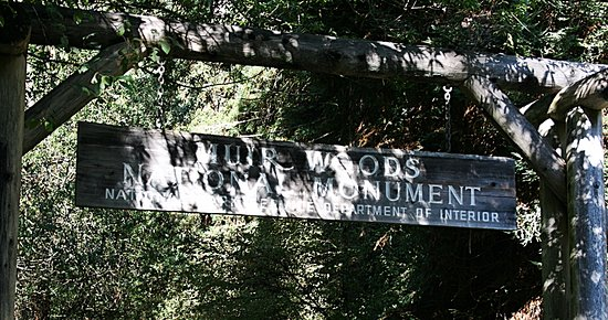 Mill Valley, CA: Entrance to Park