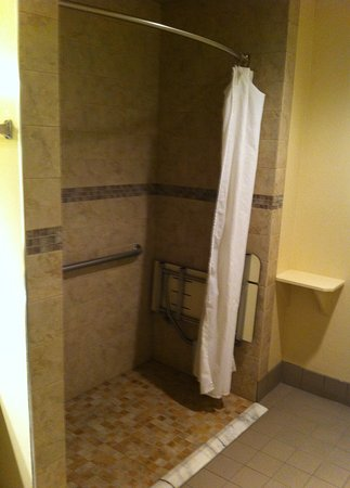 Tehachapi, Californie : Accessible Shower