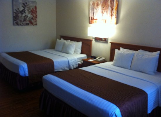 Tehachapi, Californië: Accessible room beds