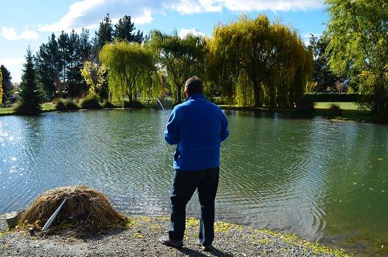 Omarama, Νέα Ζηλανδία: Catching Lunch